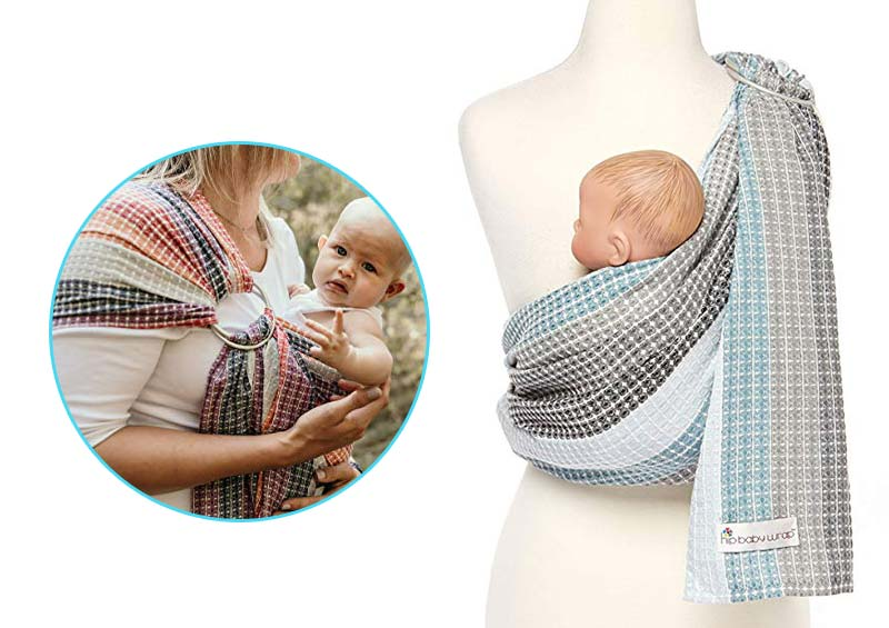 Hip Baby Ring Sling Carrier for Infants and Toddlers