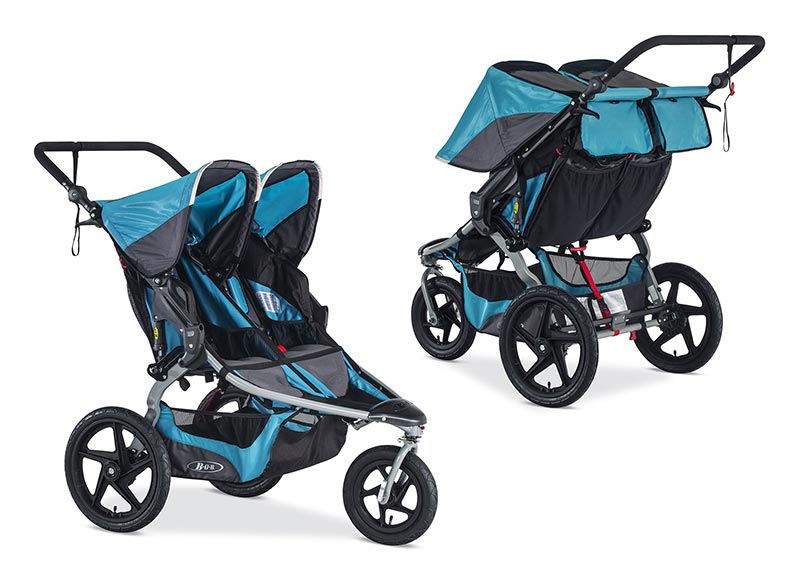 Bob Extra Adjustable Double Stroller