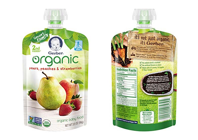 Gerber Organic 2nd Foods Baby Food