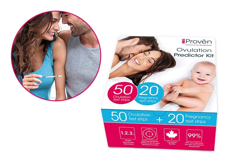 iProven Ovulation Predictor Kit