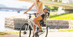 When Can A Baby Ride In A Bike Seat
