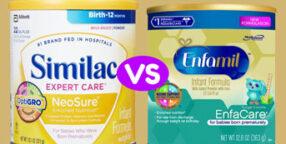Enfamil vs Similac