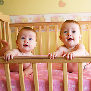 Crib for Twins