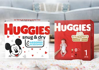 Huggies Snug and Dry vs Little Snugglers